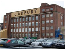 The Bournville Cadbury factory