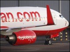 Globespan aircraft