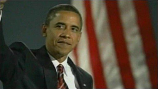 Obama on election night