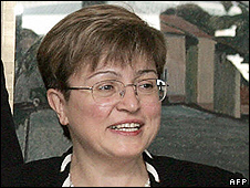 Kristalina Georgieva (file pic from 2005)