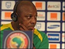 Mali Coach Stephen Keshi