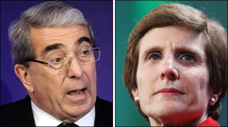 Roger Carr and Irene Rosenfeld