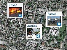 Satellite image of Port-au-Prince