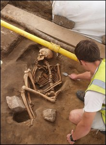 Skeleton found at Weston College