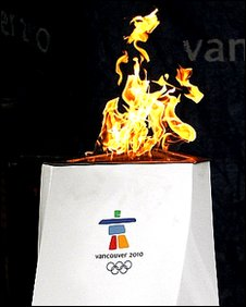 Vancouver 2010 flame