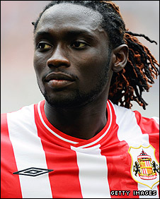 Sunderland striker Kenwyne Jones