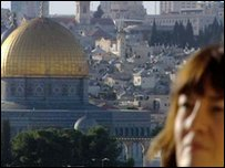 Jane Corbin in Jerusalem