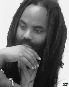 Mumia Abu-Jamal in prison (image from 1994)