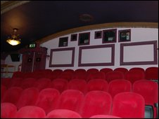 Hyde Park Picture House balcony