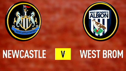Newcastle 2-2 West Brom