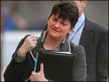 Arlene Foster, acting First Minister of Northern Ireland