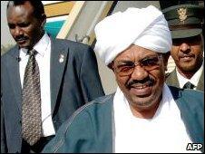 Sudan President Omar al-Bashir in November 2009
