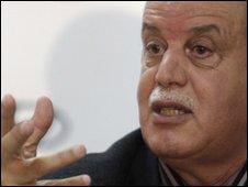 Algeria coach Rabah Saadane