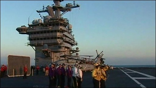The USS Carl Vinsen