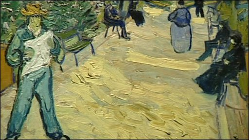 A painting by Vincent Van Gogh