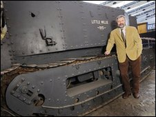 Bovington's Tank Museum curator David Willey