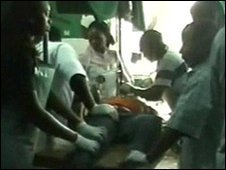 Patients being treated in a Jos hospital