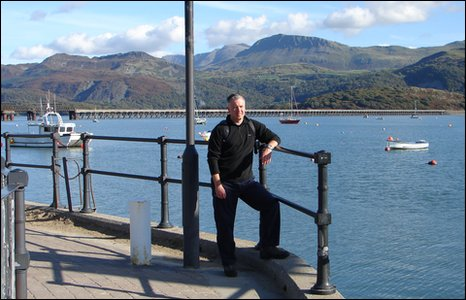 Derek Brockway in Barmouth