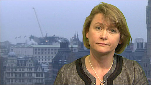 Work and Pensions Secretary Yvette Cooper