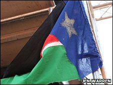 Southern Sudanese flag