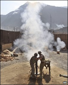 Soldiers in Afghanistan (AP)
