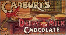 First advert for Dairy Milk in 1905