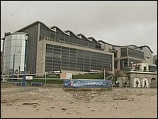 The seafront Imax building in Bournemouth