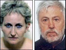 Mary Butres (l) and John Nicols