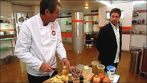 Alan Hansen and John Torode