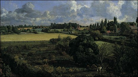John Constable's painting of his fathers kitchen garden