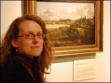 Ipswich Musem's art curator Emma Roodhouse looks at Constable's two garden pictures