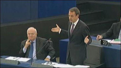 Spanish presidency debate