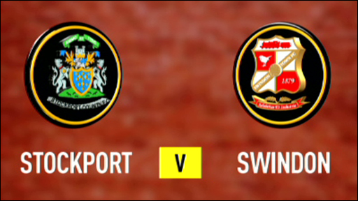 Stockport v Swindon