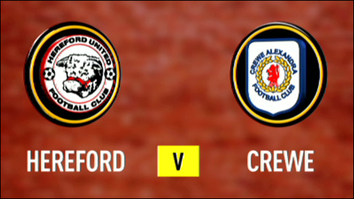 Hereford v Crewe