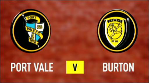 Port Vale v Burton Albion