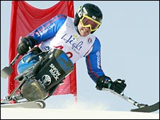 British Paralympic skier Sean Rose