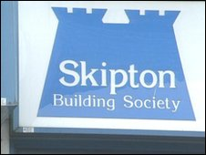 Skipton Building Society sign