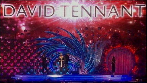 David Tennant wins award