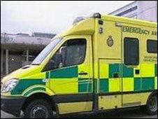 An ambulance (generic)