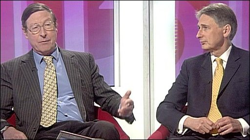 Max Hastings and Philip Hammond