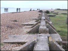 Lepe beach D-Day remains