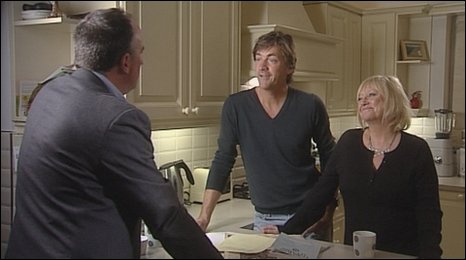 Stephen Smith with Richard and Judy
