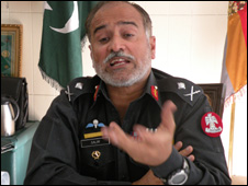 Major-General Salim Nawaz, chief of the Frontier Corps (FC) in Balochistan province