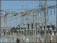 Power station in Venezuela