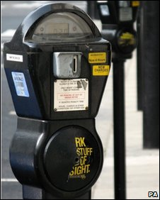 Westminster parking meter