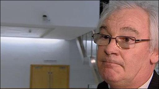 Dunfermline director of football Jim Leishman
