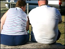 Obese people (BBC)