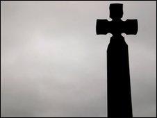 A stone cross