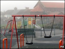 Playground in Edlington