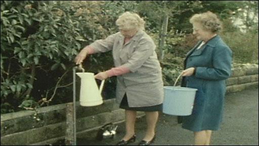 Film of the 1976 drought in Devon